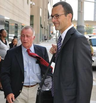 DSRA Legal Liason Chuck Cunningham with lead attorney Anthony Shelley